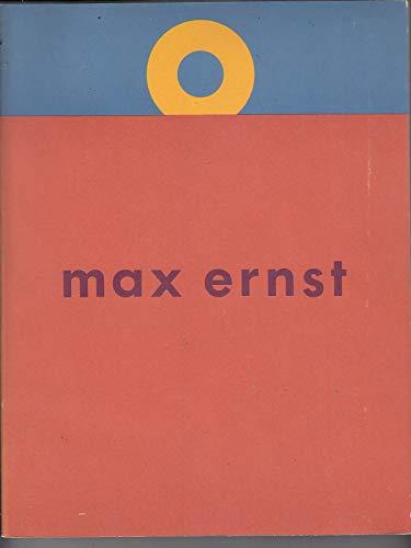 Max Ernst,A Retrospective