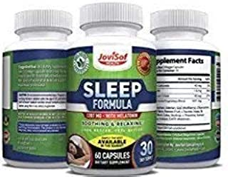 Black Friday Sale Natural Sleep Aid Pills | Best Sleeping Supplements with Melatonin, Magnesium,