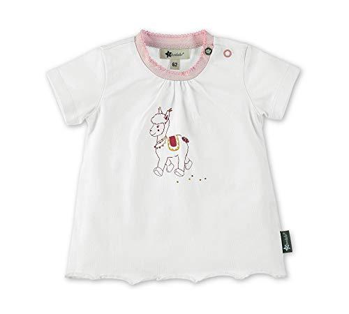 Sterntaler T-shirt voor meisjes, leuk Lama Lotte-motief
