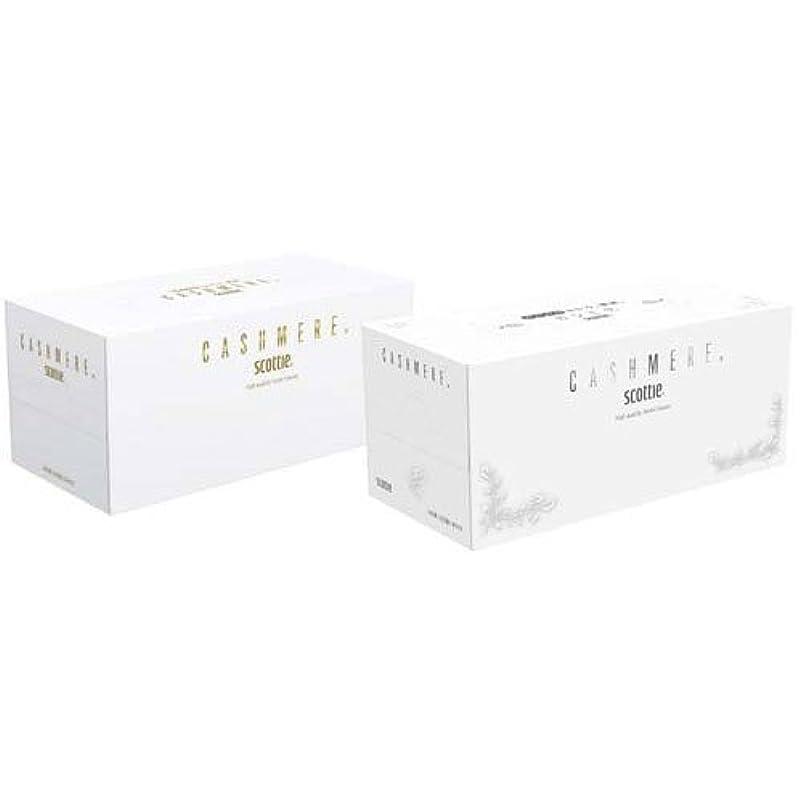 咳傾く回る日本製紙クレシア スコッティカシミヤティシュー 220W×10箱