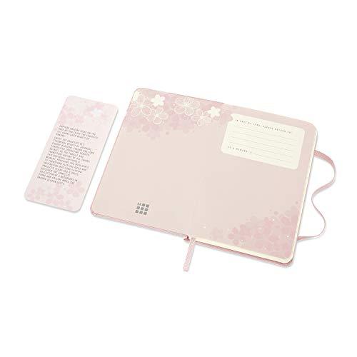 モレスキンノート2020年限定版さくらノートブックハードカバーポケットサイズ横罫ピンクLESU03MM710