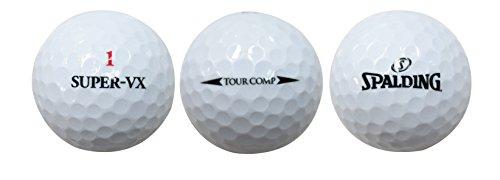 SPALDING(スポルディング)ゴルフボールTOURCOMPSUPERVXWT1ダース(12個入り)ホワイト