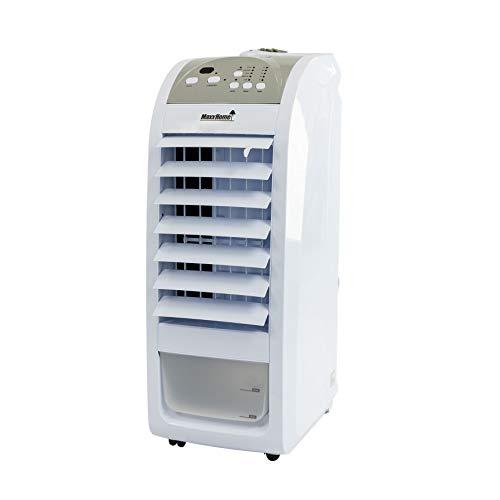 MaxxHome AC70 Rafraîchisseur d'air, Ventilateur, Econome, 75W, Volume d'air de 400m³/h, Humidificateur/Nettoyeur, Filtre poussière intégré