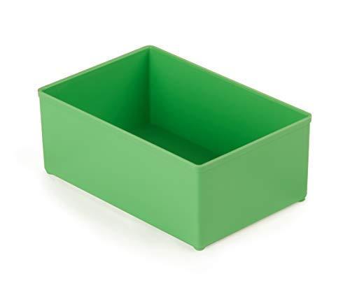 Sortimo Insetboxen Set D3 | Bosch Sortimo L-BOXX 102 | 4 Stück | Ideale Einsatzboxen für Sortimentskästen | Werkzeugkoffer Organizer