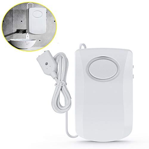 Waterlek Alarm Detector/Water Overloop Alarm/Water Alarm Voor Kelders/Dompelpomp Alarm, Water Niveau Alarm, Waterlek Detector, Hoge Decibel Onafhankelijke Stroomvoorziening