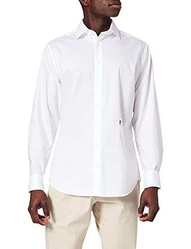 Seidensticker Seidensticker Herren 246470 Businesshemd, Weiß (Weiß 1), 37