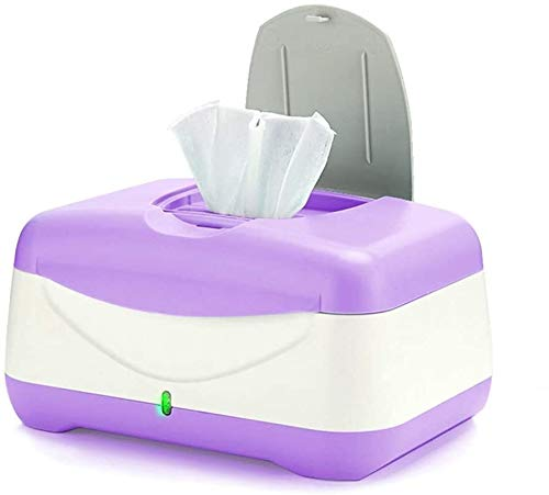 GOXJNG Tücherwärmer Wischtücher wärmer Baby nasse tücher heizung Dispenser Halter Tablas heizung Box mit nachtlicht for neugeborenen saubere hautpflege Kindergarten liefert