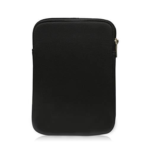 9-10 Inch Tablet Sleeve Bag, HannyBoo Protective Neoprene Zipper Case Cover for iPad 9.7 2018, iPad Pro 9.7, iPad 4 3, iPad Air 2, Surface Go 10, Galaxy Tab S3 9.7 inch, iPad 6th Generation - Black