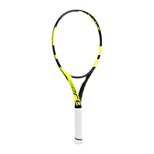 "Babolat Pure Aero Super Lite Tennis Racquet (Unstrung), Grip Size - 43/8"" (Black Yellow)"