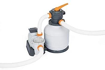 Bestway 58500E Flowclear 9,800 L Pump Sand Filter White/Gray