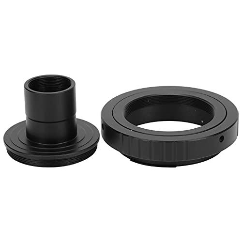 Sxhlseller Tubo de Extensión de Montaje en T para Microscopio de 23,2 Mm Anillo Adaptador de Montaje T2 para Accesorios de Astrofotografía de Cámara Canon E Mount SLR