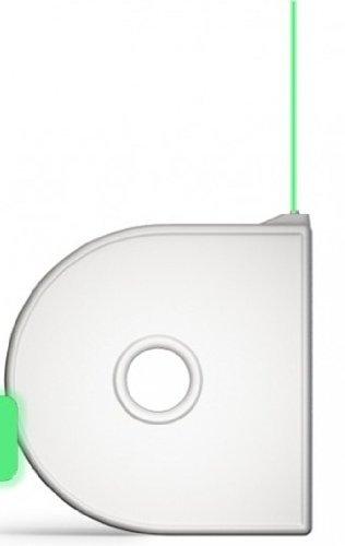 Cubify 380156 Cube 3D Printer Cartridge - PLA Glow in the Dark Green