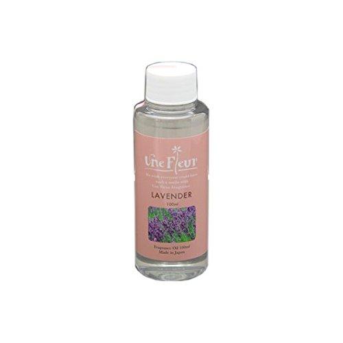 Aroma Japan Import Une Fleur Fragrance Oil Floral & Brend 100ml - Lavender (Harajuku Culture Pack)