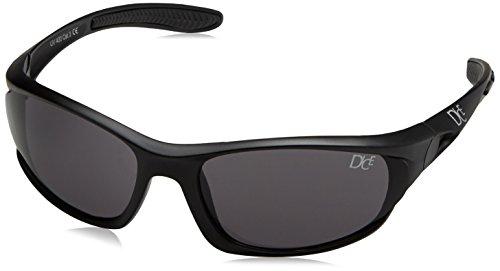 Dice Herren Sport Sonnenbrille, matt black, D03928-2