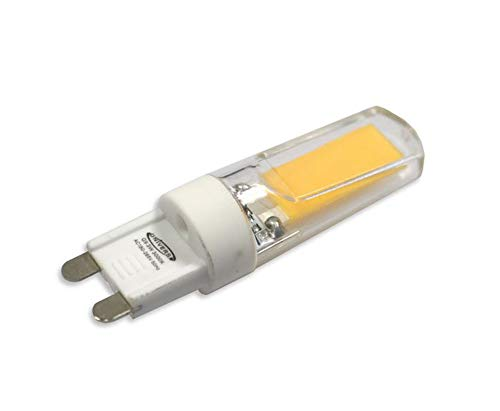 Vetrineinrete® Lampadina led cob g9 3 watt a luce naturale 4000 k equivalente lampada incandescenza 27 watt ultra luminosa 06 E24