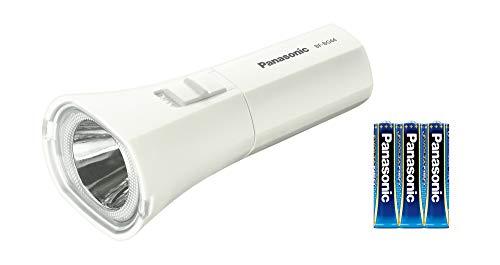 パナソニック LED懐中電灯 乾電池エボルタNEO付 BF-BG44K-W