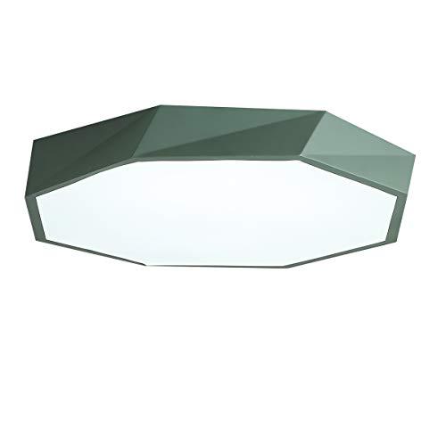 Luz de techo Macaron de forma geométrica de estilo nórdico, luz de techo empotrada de personalidad creativa, lámpara LED...