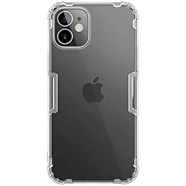 """Nillkin Case for Apple iPhone 12 Mini (5.4"""" Inch) Nature Series Back Soft Flexible TPU White Color"""