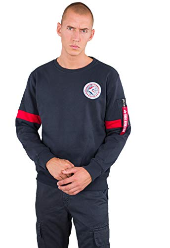 Alpha Industries Men Sweatshirt Apollo 15