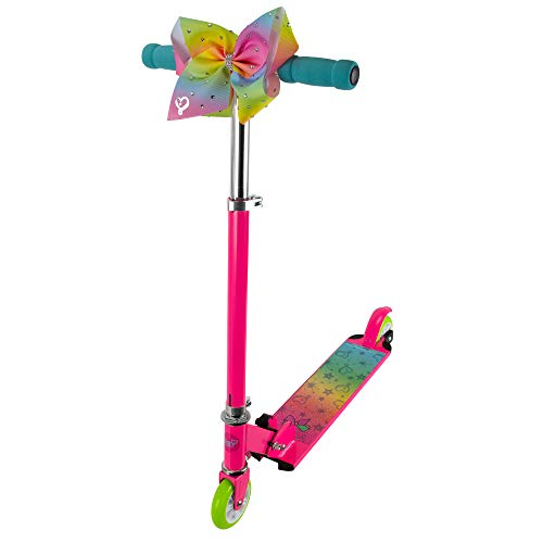 PlayWheels JoJo Siwa 2-Wheel Aluminum Scooter, Pink (169690)