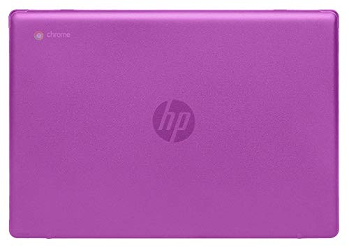 mCover Hard Shell Case for 2020 14' HP Chromebook 14a Series (Like 14a-na0023cl Sold at Costco, NOT Compatible with Older HP C14 G1 / G2 / G3 / G4/ G5 / G6 Series) laptops (Purple)