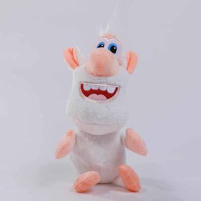 dingtian Peluche Regalo di Natale della Bambola del Regalo della Peluche di Booba Buba del Maiale Bianco Caldo di 38cm