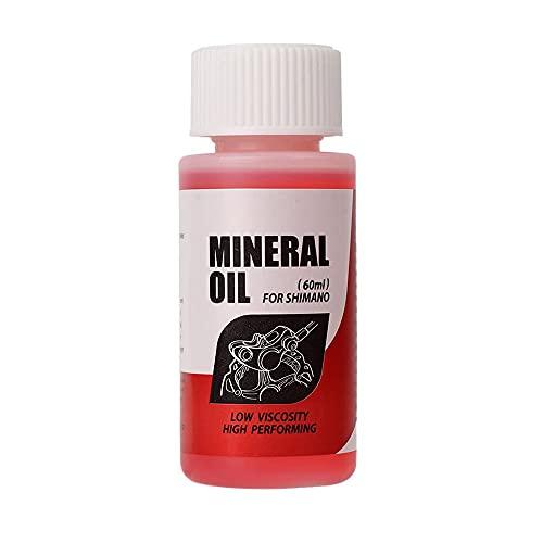 Líquido de aceite mineral para sistema de frenos Shi-mano, envase de 60...