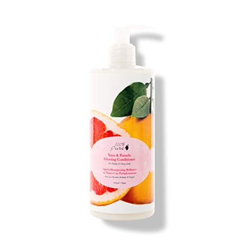 100% PURE Yuzu & Pomelo Glossing Conditioner (13 Fl Oz), Sulfate Free Conditioner, Hydrating, Nourishing, Boosts Hair Shine, Made with Coconut Oil, Citrus Fruits
