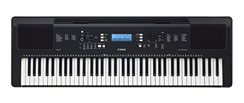 Yamaha Digital Keyboard PSR-EW310 - Tastiera Digitale Versatile e Portatile con 76 tasti Sensibili al Tocco, 622 Suoni Strumentali e Funzione di Apprendimento, Colore Nero