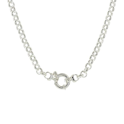 Trendjuwelier huiscollectie 1018697 zilveren ketting jasseron 5,5 mm