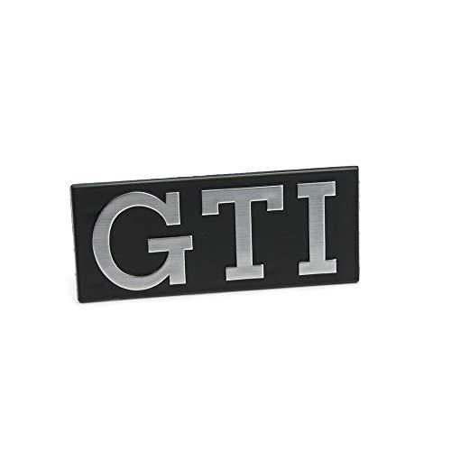 Volkswagen 171853679GX2 Emblem Golf 1 GTI vorn Kühlergrill Logo schwarz chrom