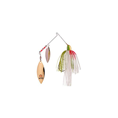Strike King Lures KVD Finesse Spinnerbait Lure, Freshwater, 3/8 oz, Tennessee Shad, Package of 1