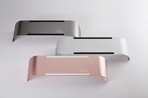 CloudTop Design Arch II Laptop Stand (Silver)