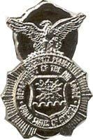 Max 86% OFF US Air Force SALENEW very popular Security Lapel Police Pin