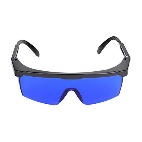 Alomejor Gafas de buscador de Pelota de Golf Lentes Azules Gafas de Sol de Pelota de Golf con Estuche Moldeado para anteojos Deportivos de Golf
