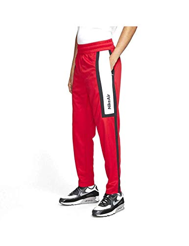 NIKE M NSW Air Pant PK Pants, University Red/Black/White/White, L Mens