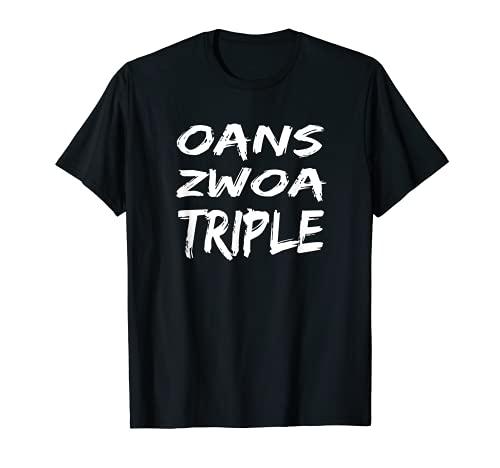 Oans Zwoa Bayern Triple Ganador Copa 2020 Fútbol Camiseta