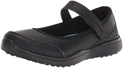 Skechers girls Microstrides-class Spirit Uniform Dress Shoe, Black, 3 Little Kid US