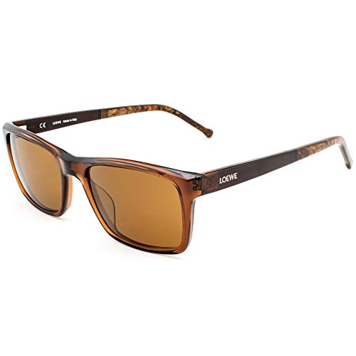 Loewe SLW956M5309GW Gafas, SHINY MOSS, 53x17x140 para Hombre