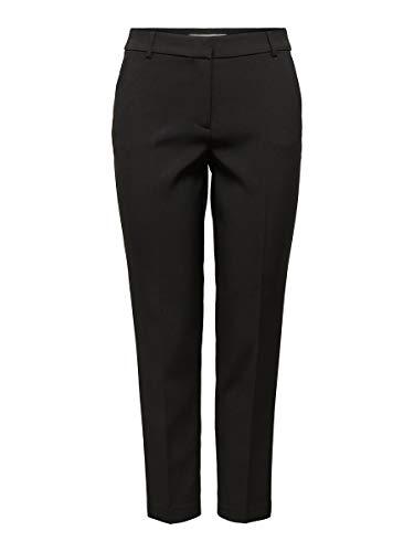 Only Onlvilda-Astrid MW Cigarette Pant CC TLR Pantalones, Negro, 36/32 para Mujer