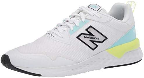 New Balance WS515RC2, Trail Running Shoe Mujer, White/Bali Blue/Lemon Slush, 32 EU