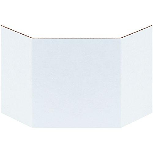 aviditi bind4Wellpappe Abfalleimer Trennwand, 10,2cm Breite, Oyster Weiß (Fall von 100)