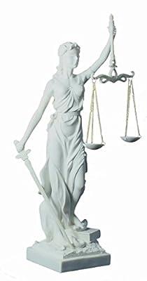Tolle Justitia Göttin der Gerechtigkeit als Geschenk für Anwälte