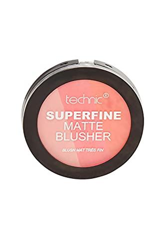 Colorete compacto Superfine de Technic, mate, 12 g