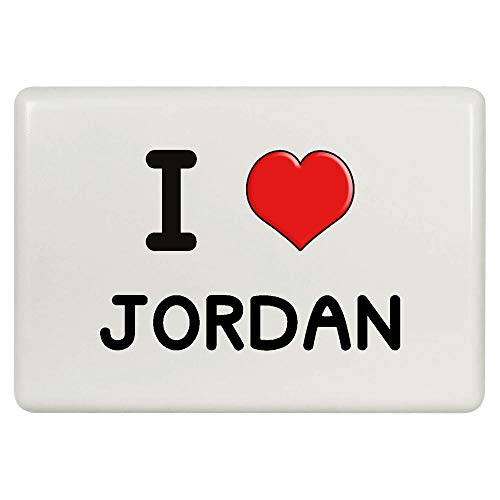 Stamp Press 'I Love Jordan' Kühlschrankmagnet (FM00000297)