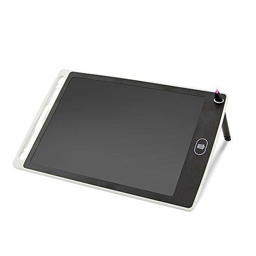 Wise OVO Notiz-Tablet für handgeschriebene Notizen, 8,5 Zoll (21,6cm), LCD, Grafik-Tablet, Kinder, Familie weiß weiß 8.5 inch LCD