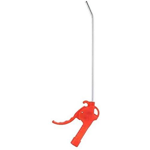MSNDIAN Manguera de jardín Pistola de pulverización, Multiuso compresor de Aire Plumero, soplado de plástico Pistola de Aire de Aire Plumero Herramienta de Limpieza de Handy - Rojo