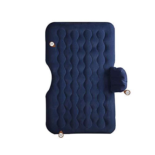 TYZXR Aufblasbares Auto-Bett, Rücksitz-Auto-Matratze, SUV-Reiseluftbett, Rücksitz-Isomatte, tragbares Airbag-Bett, spezielles mobiles Kissen (Farbe: A)