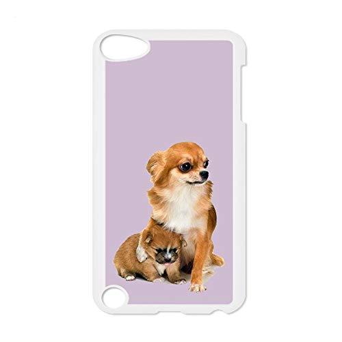 Delgado Tener Chihuahua 2 Compatible con iPod Touch 5 Teléfono, Conchas, Plásticos para Hombre Choose Design 156-5