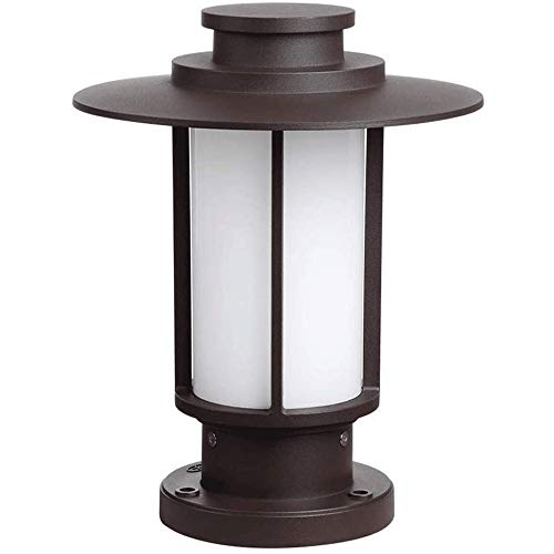 Suave, no deslumbrante Column headlight Columna Faro - columna de luz de la pared, columna impermeable al aire libre de los faros Moda Paisaje hexagonales farolas de café de la barra patio del jardín